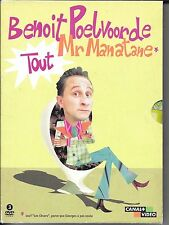 COFFRET DIGIPACK 3 DVD ZONE 2--BENOIT POELVOORDE TOUT MR MANATANE