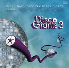DISCO GIANTS Volume 3  (2-CD) Great 80's 12 inches