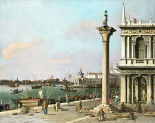 Bacino di San Marco From the Piazzetta by Canaletto 75cm x 59.8cm Canvas Print