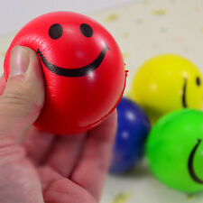 Random Smiley Face Anti Stress Reliever Ball ADHD Autism Mood Toys Squeeze LS