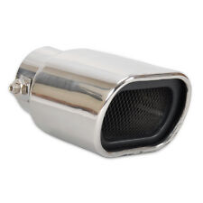 Universal 56mm STRAIGHT STAINLESS STEEL EXHAUST TAIL REAR MUFFLER TIP PIPE End