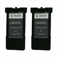 Ink Cartridge for Lexmark X3650 X4650 X5650 X5650es (pack of 2 Black)