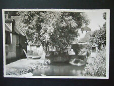 Postcard. Villiers- Saint-Benoit, Burgundy. Posted in 1951, to a Wembley address