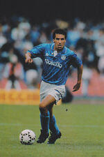 Football Photo ANTONIO CARECA Napoli 1992-93