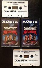 Star Trek Next Generation Reunion Audio Book On Cassette Tape Not Dvd