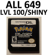 Pokemon Black Game Unlocked All 649 Zoroark Event Shiny DS Lite DSi 2DS 3DS XL