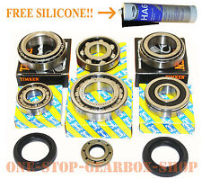 Fiat Punto & Grande Punto 5 speed gearbox uprated bearing & oil seal rebuild kit