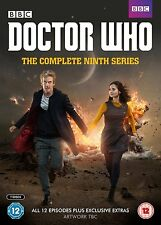 DR WHO Complete Season Series 9 + Xmas Specials Collection Doctor NEW DVD R4