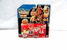 1991  WWF MINI WRESTLERS 7393 ACTION FIGURES FOR ROYAL RUMBLE RING ~ NIP ~ (ELM