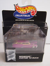 1998 Hot Wheels Black Box 100% Collectibles REDWOOD CUSTOM 50 buick