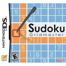 Sudoku Gridmaster Nintendo DS (Game Only) #120053