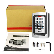 RFID 125Khz EM Card Standalone Door Access Controller Keypad Anti-theft System