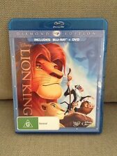 Disney lion king Bluray only doesnt included DVD disc