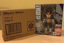 S.H. Figuarts Vegeta, Scouter Version, Sealed New In Box With Web Exclusive Box