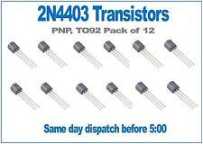 2N4403 PNP TRANSISTOR TO92 Pacco di 12
