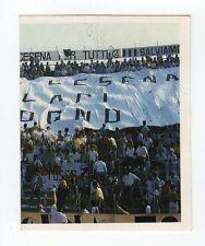 figurina CAMPIONI E CAMPIONATO 90/91 1990/91 numero 84 CESENA TIFOSI