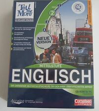 Tell Me More 6.0 - inglese livello medio (CD-ROM) Cornelsen software NEW & OVP