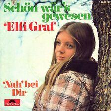 """7"""" Elfi Graf – Schön wär's gewesen // Germany 1972"""