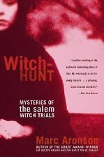 Witch-Hunt: Mysteries of the Salem Witch Trials by Marc Aronson, Acceptable Book