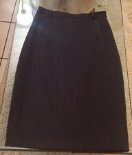 TEENFLO Chic Pencil Skirt Charcoal Gray Made in Canada Size 6