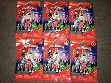 NIP POWER RANGERS MEGA CONSTRUX BUILDING FIGURES LOT OF 6 BLIND BAGS