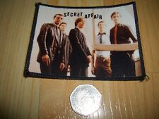 SECRET AFFAIR THE WHO TARGET JAM MOD REVIVAL 79 SCOOTER PATCHES THE LAMBRETTAS