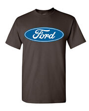 Licensed Ford Logo T-Shirt Truck Mustang F150 Muscle Car Tee Shirt