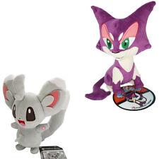 Nintendo Pokemon Center 7inch Choroneko Purrloin &Minccino Plush Doll Xmas Gift
