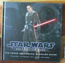 Star wars the force unleashed  d20 hardcover  RPG roleplaying adventure module