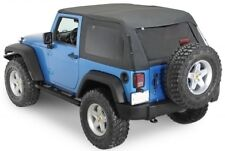 Smittybilt Bowless Combo Top 07-15 Jeep Wrangler JK 2 Door 9073235 Black