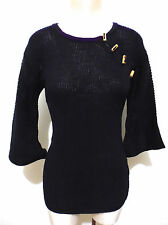 CULT VINTAGE '70 Maglione Donna Lana  Acrilic Woman Wool Sweater Sz.S - 42
