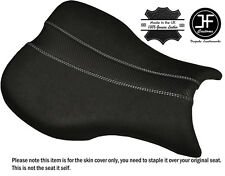 GRIP CARBON WHITE DS ST CUSTOM FITS TRIUMPH DAYTONA 675 06-12 FRONT SEAT COVER