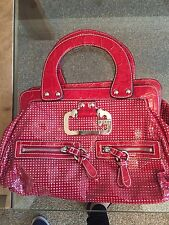 Guess genuine handbag red good condition