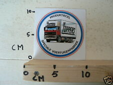 STICKER,DECAL DAF TRUCKS PRODUCTIECEL DE TOPPERS SPECIAL VOERTUIGENFABRIEK