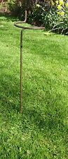 "Heavy Duty 3 x Victorian Style Wraparound Plant Supports 60cm, 5/16"" Steel Bar"
