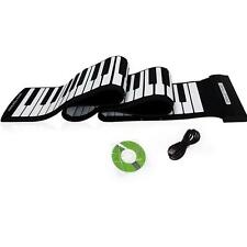 USB 88 Keys MIDI Roll up Electronic Piano Keyboard Silicone Professional US T0P8