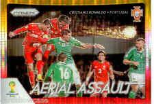 2014 World Cup Prizm Yellow & Red Aerial Assault No.1 C. RONALDO (PORTUGAL)