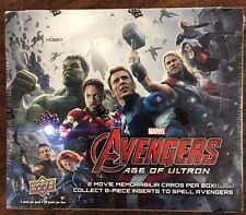 Marvel Avengers: Age of Ultron Trading Cards Hobby Box (Upper Deck 2015)