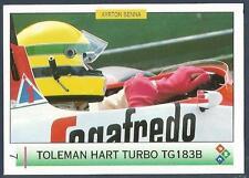 """PMC-AYRTON SENNA """"MAGIC SENNA"""" F1- #007-TOLEMAN HART TURBO TG 183B-CANADA"""