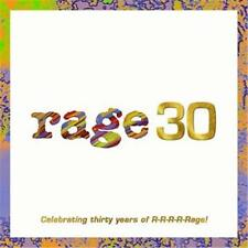 RAGE CELEBRATING 30 YEARS OF RAGE VARIOUS ARTISTS 3 CD NEW