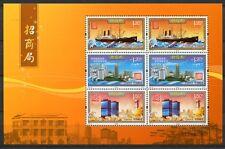 CHINA PRC 2012-27 Handel Wirtschaft Schiff Architektur Kleinbogen ** MNH