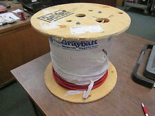 Belden 18 AWG 9-Conductor Plenum Cable 83659 002 Red Belfoil Shielded *1000 ft*