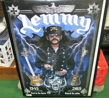 MOTORHEAD POSTER NEW 2016 DATES limited production run  LEMMY