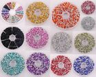 10g(about 750pcs) Craft Making Acrylic Crystals Nail Art Decor Rhinestones 3x2mm