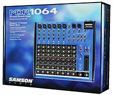 New Samson MDR1064 10 Channel Mixer Sound Reproduction Recording Live Sound