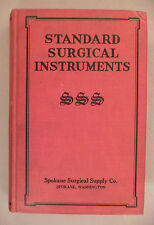Standard Surgical Instruments CATALOG - 1922 -- with Price List -- hardcover