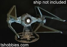Hasbro Star Wars Tie Interceptor Laser cut acrylic display stand