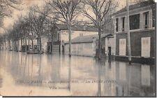 CPA 75 - PARÍS - Enero - Febrero 1910 - Los Inundaciones - villa inundado