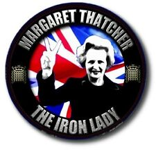 MARGARET THATCHER ~THE IRON LADY...COMMEMORATIVE SOUVENIR BADGE