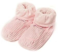 Intelex Warmies Lavender Pink Spa Therapy Microwavable Slipper Boots Feet Warmer